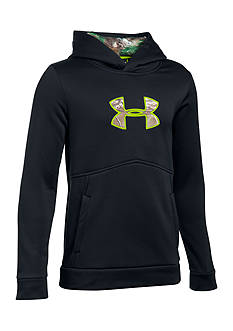 Under Armour® Camouflage Logo Hoodie Boys 8-20