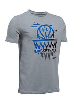 Under Armour Steph Curry Basketball Badge Tee Boys 8-20