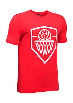 Under Armour SC Basketball Badge Tee Boys 8-20