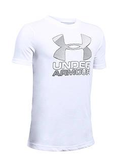 Under Armour New Big Logo Hybrid 2.0 Tee Boys 8-20