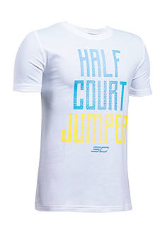 Under Armour® Steph Curry 'Half Court Jumper' Tee Boys 8-20