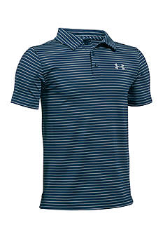 Under Armour® Playoff Stripe Polo Boys 8-20