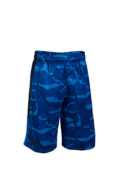 Under Armour Printed Stunt Shorts Boys 8-20