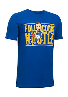 Under Armour® Steph Curry Full Court Hustle Tee Boys 8-20