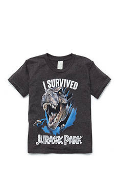 Jurassic Park Short Sleeve 'I Survived' Tee Boys 4-7