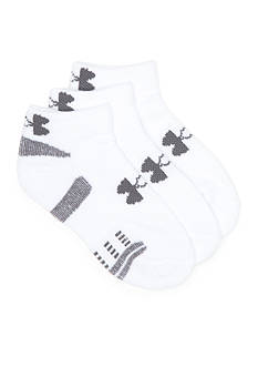 Under Armour® Heatgear Low Cut 3-Pack Socks Boys 8-20