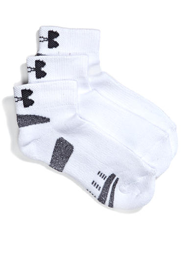 Under Armour® 3-Pack Low Cut Socks Youth Large