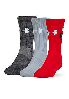 Under Armour® 3-Pack Next Statement 3.0 Crew Socks