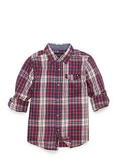 Lucky Brand Patriot Woven Shirt Boys 4-7