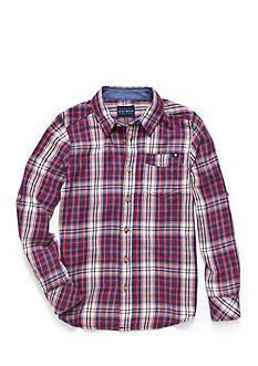 Lucky Brand Patriot Woven Shirt Boys 8-20