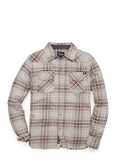 Lucky Brand Legend Western Plaid Shirt Boys 8-20