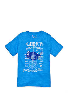Lucky Brand Short Sleeve Acoustic Tee Boys 8-20
