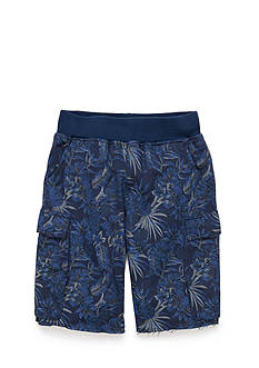 Lucky Brand Printed Cargo Shorts Boys 8-20
