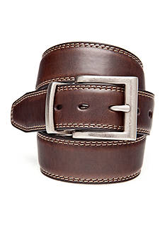 J. Khaki 30MM Reversible Stitched Belt Boys 4-20