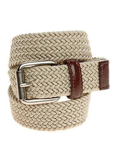 J Khaki™ Braided Belt Boys 4-20