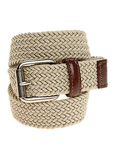 J. Khaki® Braided Belt Boys 4-20