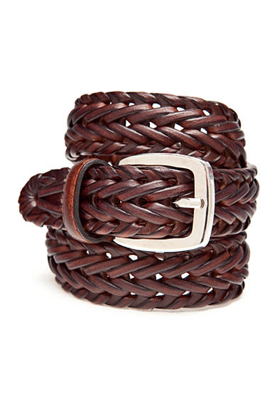 J. Khaki® 25MM Weave Braided Belt Boys 4-20