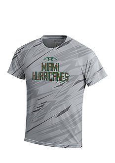 Under Armour® Miami Hurricanes Jagged Edge Tech Tee Boys 8-20