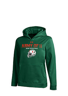 Under Armour® Miami Hurricanes Armour Fleece Hoodie Boys 8-20