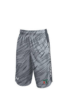 Under Armour® Miami Hurricanes Eliminator Shorts Boys 8-20