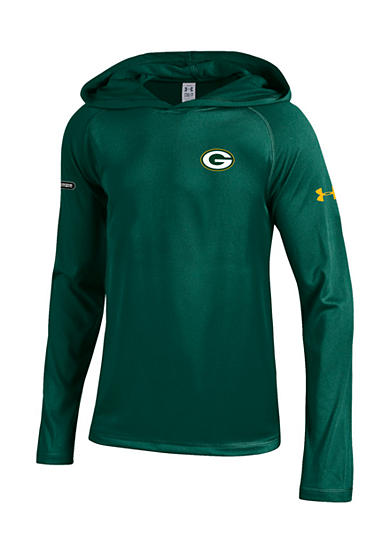 Gear for Sports Green Bay Packers NFL Primary Logo Tech Hoodie Boys 8-20