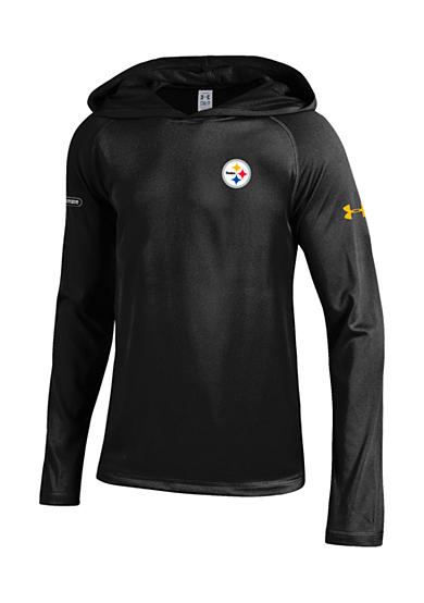 Gear for Sports Pittsburgh Steelers NFL Primary Logo Tech Hoodie Boys 8-20