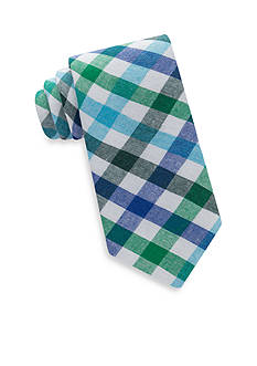 IZOD Riverside Gingham Tie