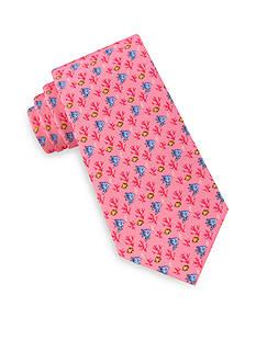 IZOD Coral Fish Tie