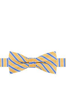IZOD Joel Framed Stripe Bow Tie