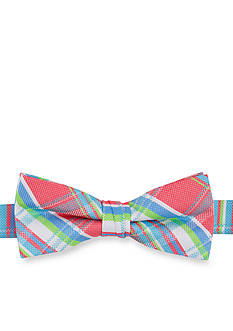 IZOD Capital Plaid Bow Tie