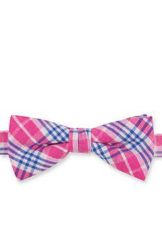 IZOD Province Plaid Bow Tie