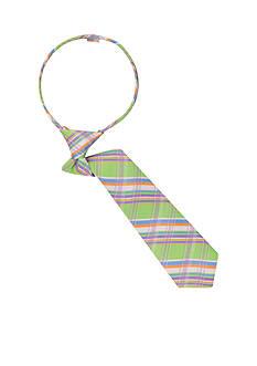 IZOD Metropolitan Plaid Zip Tie