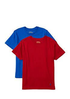 Ralph Lauren Childrenswear 2-Pack Crew Neck T-Shirt Set Boys 8-20