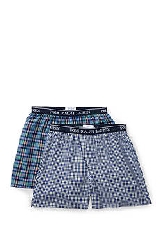 Ralph Lauren Childrenswear 2-Pack Cotton Boxer Set Boys 8-20