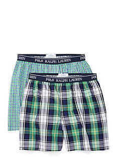 Ralph Lauren Childrenswear 2-Pack Cotton Boxer Set Boys 8-20