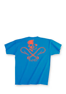 Salt Life Short Sleeve Skull and Hooks Tee Boys 8-20