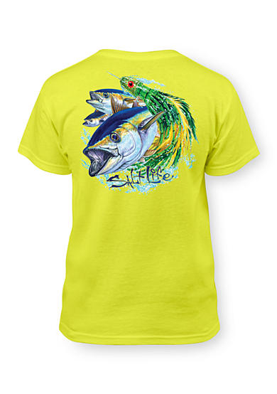 Salt Life Short Sleeve Tuna Lure Tee Boys 8-20