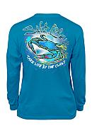 Salt Life Long Sleeve Life By Claws Tee Boys 8-20