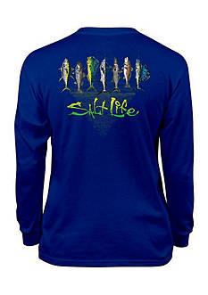 Salt Life Lucky 7 Long Sleeve Tee Boys 8-20
