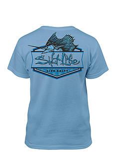 Salt Life Sailfish Badge Tee Boys 8-20