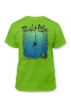 Salt Life Hook Line Sinker Tee Boys 8-20