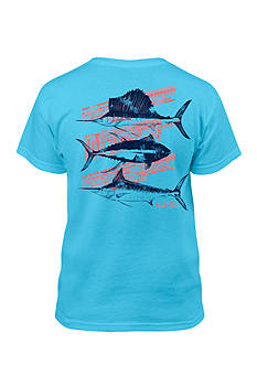 Salt Life Aztec Fish Tee Boys 8-20