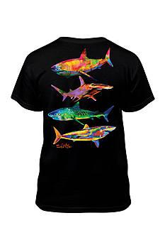 Salt Life Shark Tee Boys 8-20