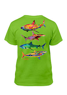 Salt Life Shark Tee Boys 8-20