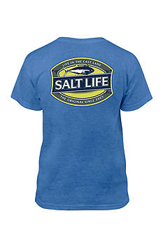 Salt Life 'Life In The Cast Lane' Tee Boys 8-20