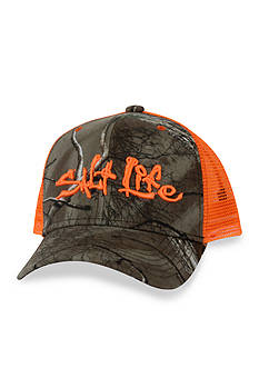 Salt Life Camo Mesh Hat Boys 8-20