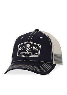 Salt Life Trifecta Trucker Mesh Hat Boys 8-20