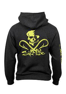 Salt Life Skull And Hooks Hoodie Boys 8-20