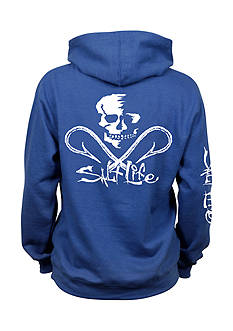 Salt Life Skull And Hooks Hoodie Boys 8-20