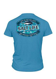 Salt Life 'Life In The Cast Lane' Performance Tee Boys 8-20
